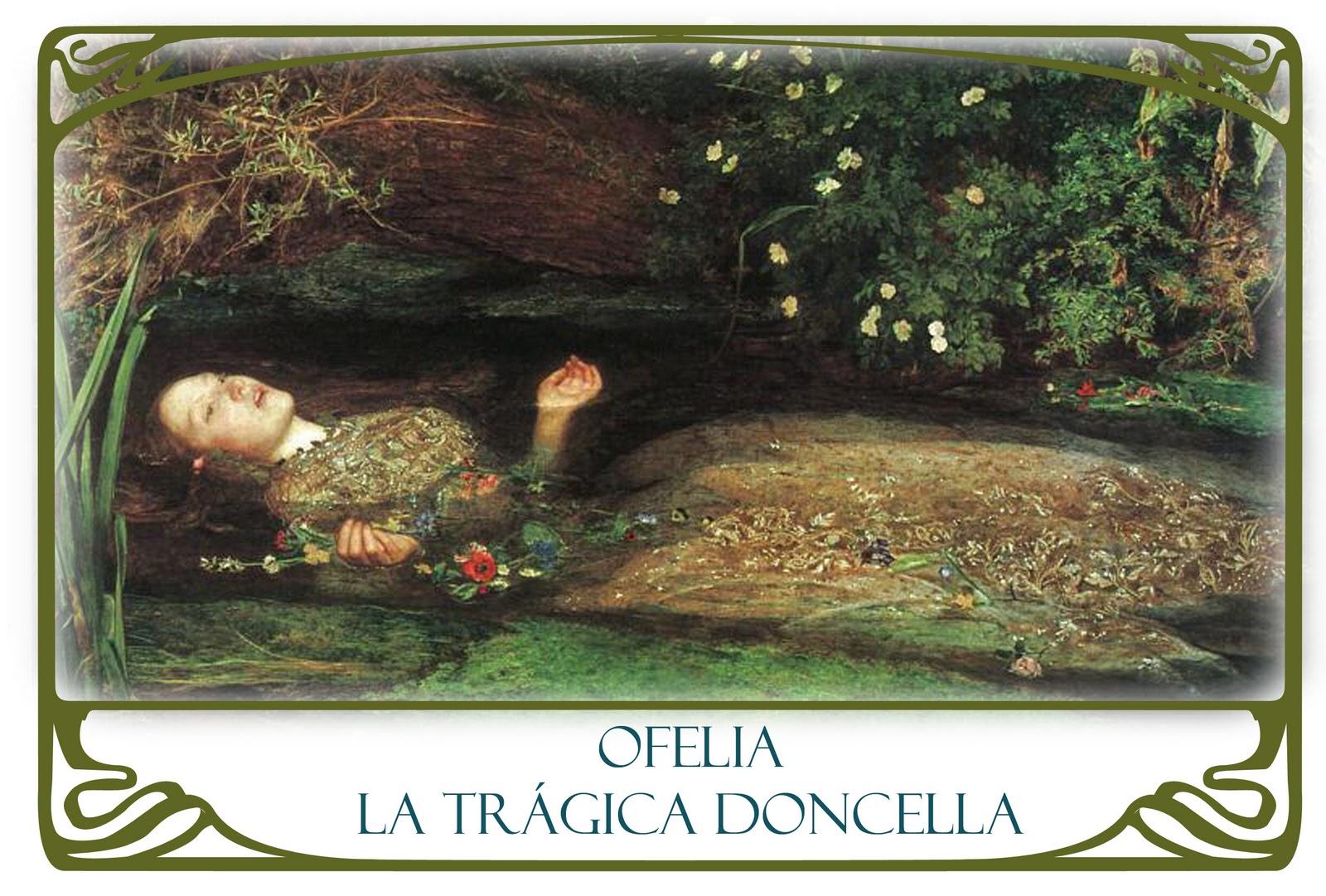 La Tr Gica Doncella Ofelia Entre Las Flores