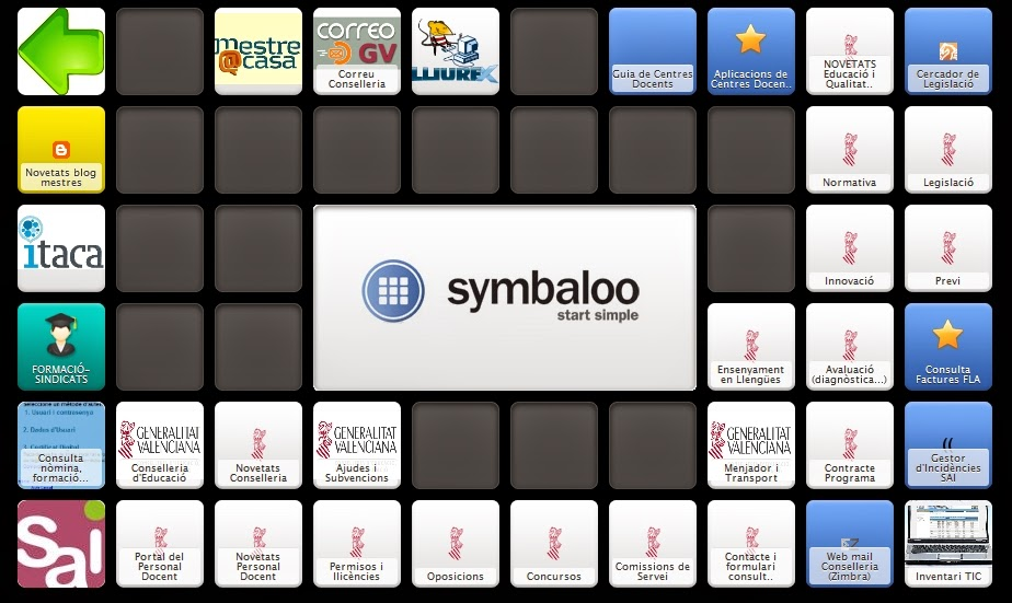 SYMBALOO CONSELLERIA