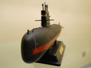 maqueta de submarino chino Sung