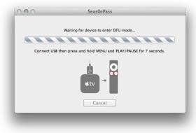 Apple TV mode DFU