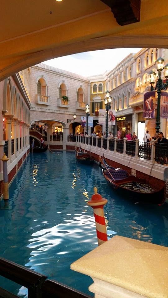 Gondola Ride in The Venetian in Macau