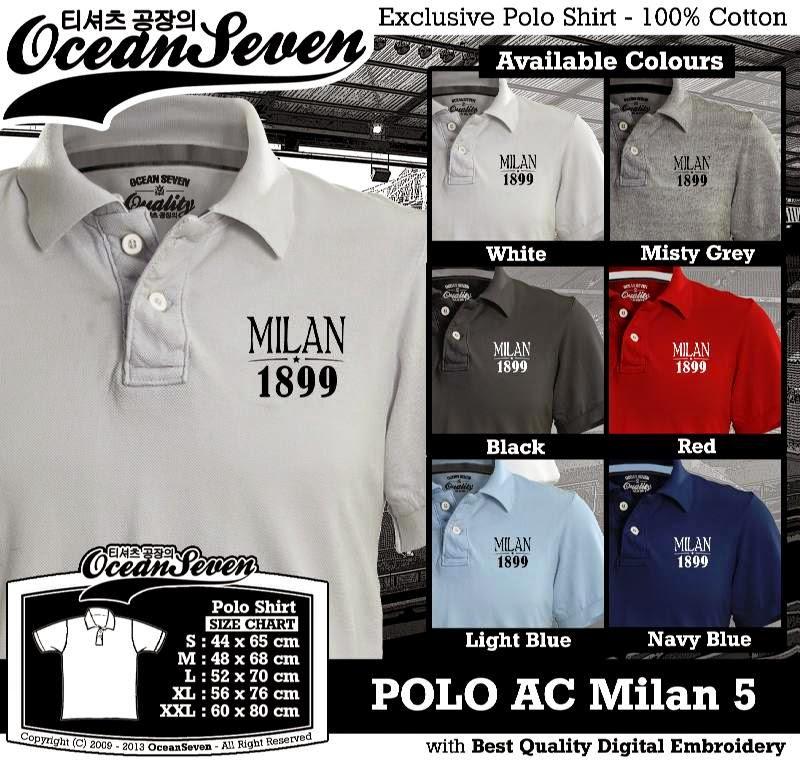 Kaos Polo AC Milan 5