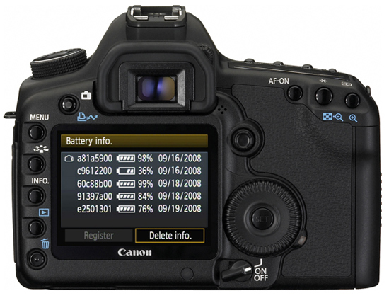 Spesifikasi harga canon eos 5d mark ii
