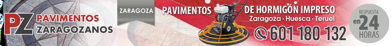 Hormigón Impreso en Zaragoza, Huesca y Teruel | 601 180 132 | PAVIMENTOS ZARAGOZANOS