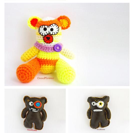 ours d'artiste par cocoflower - ugly doll