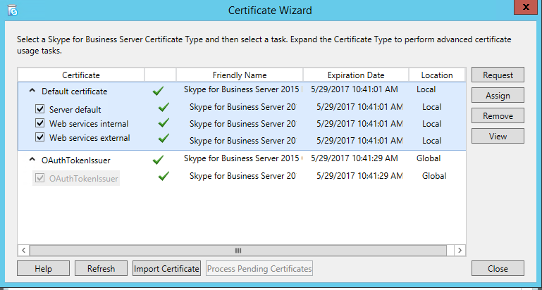 Lync me unified communications blog skype for business new when deploying your skype for business server the deployment is very much the same as lync 20102013 until you click request yelopaper Gallery