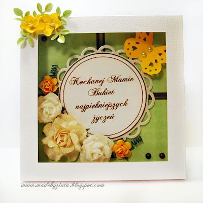 kartki okolicznościowe barbara wójcik piekary śląskie kartka dla mamy