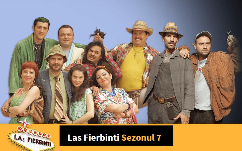 Las Fierbinti Sezonul 7 Episodul 11 miercuri 15 aprilie 2015 online reluare