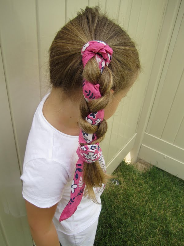 Bandana Braid Simple Summer Hair