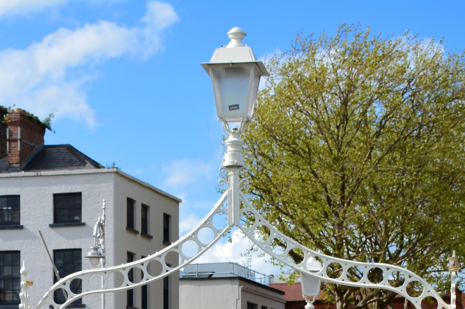 Lamp atop the Ha'penny Bridge