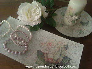 DECOUPAGE EN CRISTAL