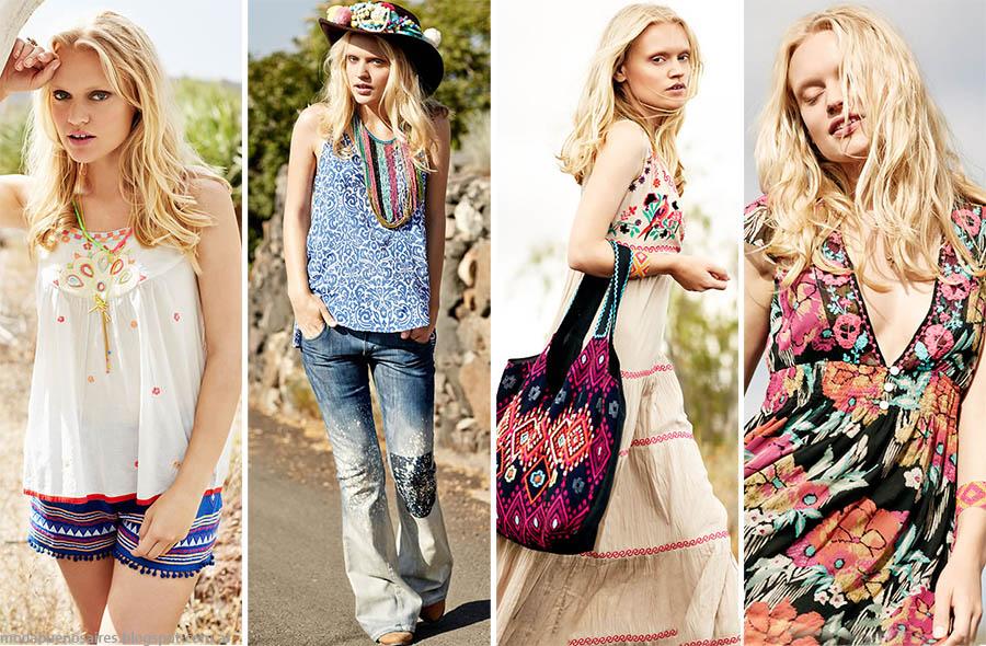 MODA. Moda Argentina primavera verano 2015. India Style primavera verano 2015. Moda 2015.