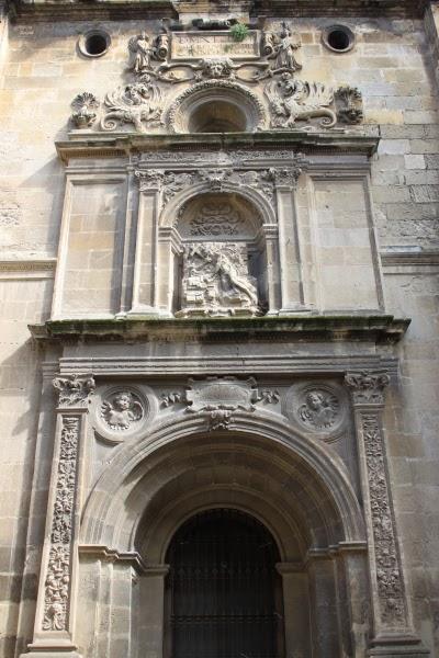 Por las calles de granada la puerta de san jer nimo de la for Puerta 8 san marcos