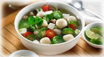 Sayur Sop Telur Puyuh - Menu Buka Puasa Praktis