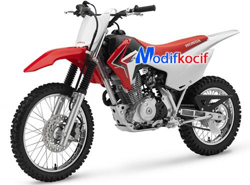 Modifikasi Motocross Trail Honda