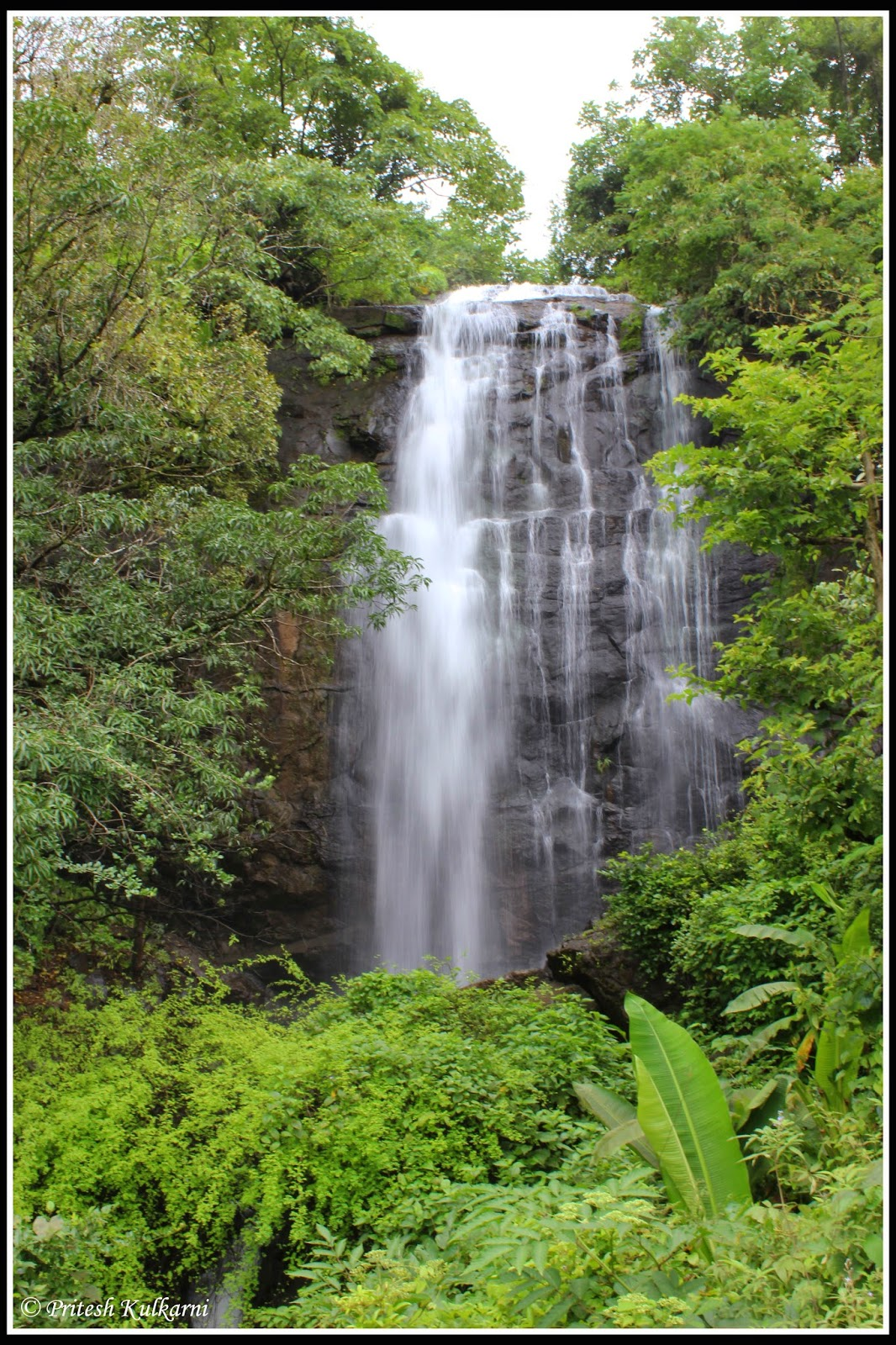 Waterfall near Raigad