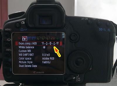 camera automatic exposure bracketing
