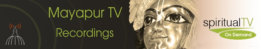 Mayapur TV Archives