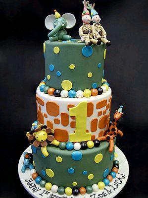 Torta Tienes La Representaci  N De La Selva  Incluidos Los Animales