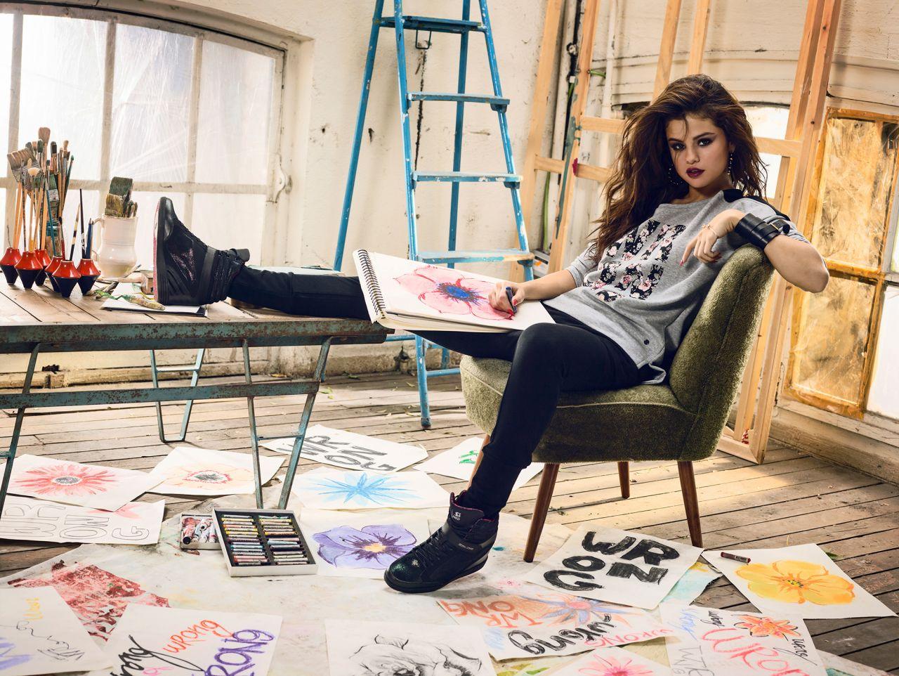 Moda] adidas neo - etichetta raccolta selena gomez estate 2014