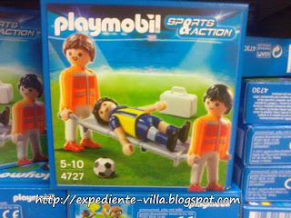 playmobil camilla futbol