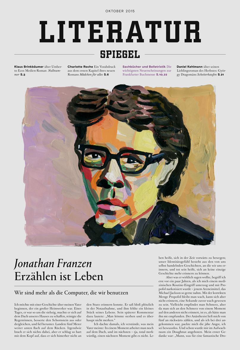 Caf deutschland neues literatursupplement im spiegel for Spiegel printausgabe