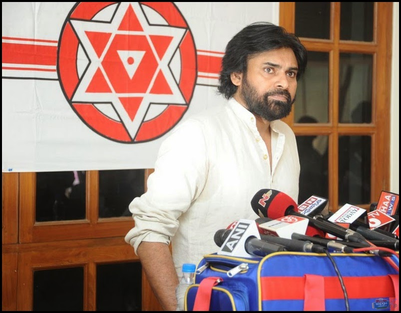 Check out the photos of  Pawan Kalyan from Jana Sena Press Meet  which was held today pawankalyan has explained various things he made few sensational statements on Tdp and Bjp govenements . Pawankalyan is ready to support Farmers in Andhra Pradesh .