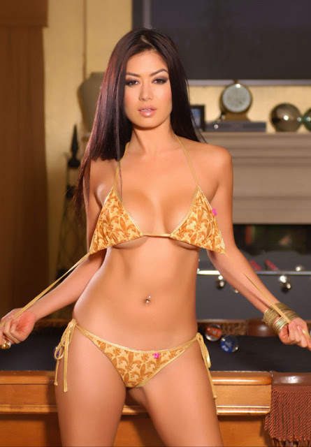 Vietnamese Model Kim Lee in Lingerie