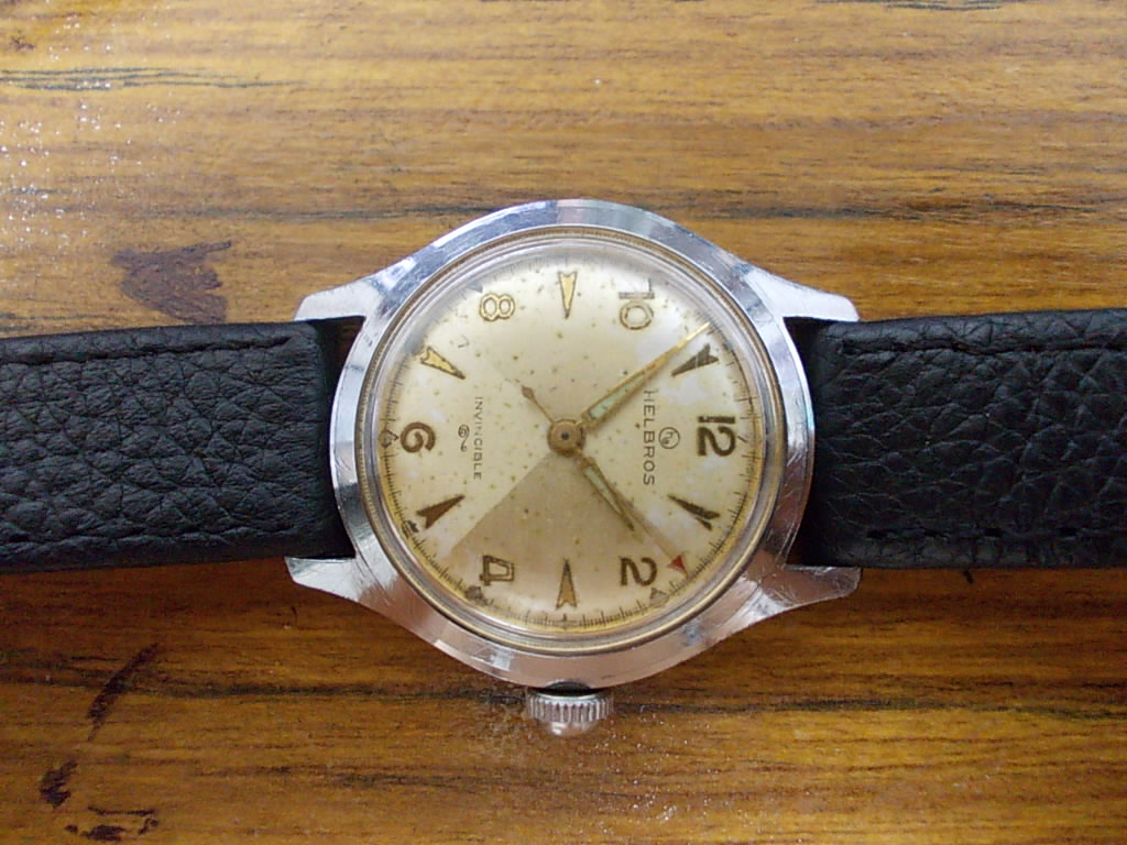 vintage helbros watches publicly