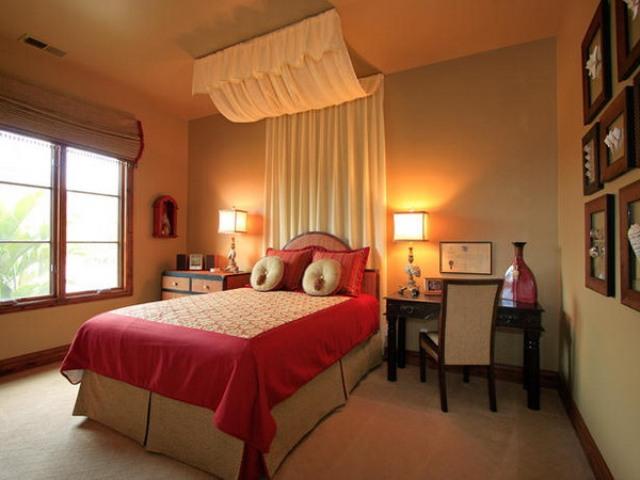 Desain kamar tidur utama rumah minimalis modern