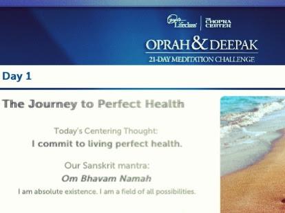 Oprah & Deepak Chopra's 21 Day Meditation Challenge