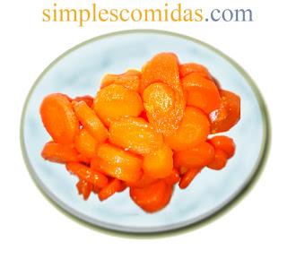 zanahoria glaceada