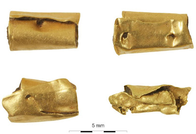4,000 year old gold-adorned skeleton found near Windsor