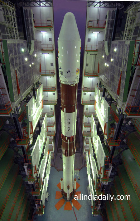 View of PSLV-C22