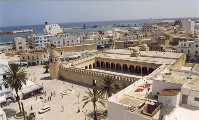 The city of Sousse, eastern Tunisia