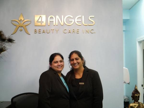 4 Angels Beauty Care owners Navkiran Sokhi and Kulwinder Malhi