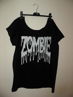 diy wildfox zombie punk koszulka moda blog