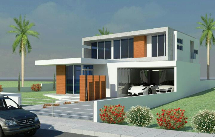 luxury contemporary villa design - New Design Homes