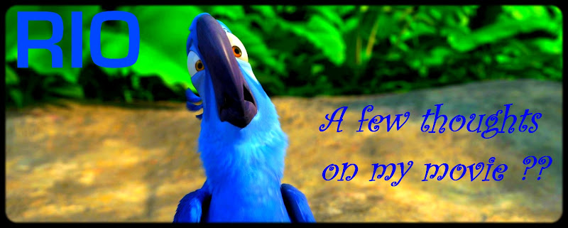 movie RIO blue talking bird that needs to fly