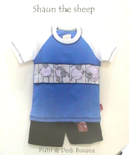 baju kartun shaun the sheep