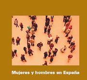 El INE ha publicado estadísticas sobre Hombres y mujeres en España en 2012 y . (ine)