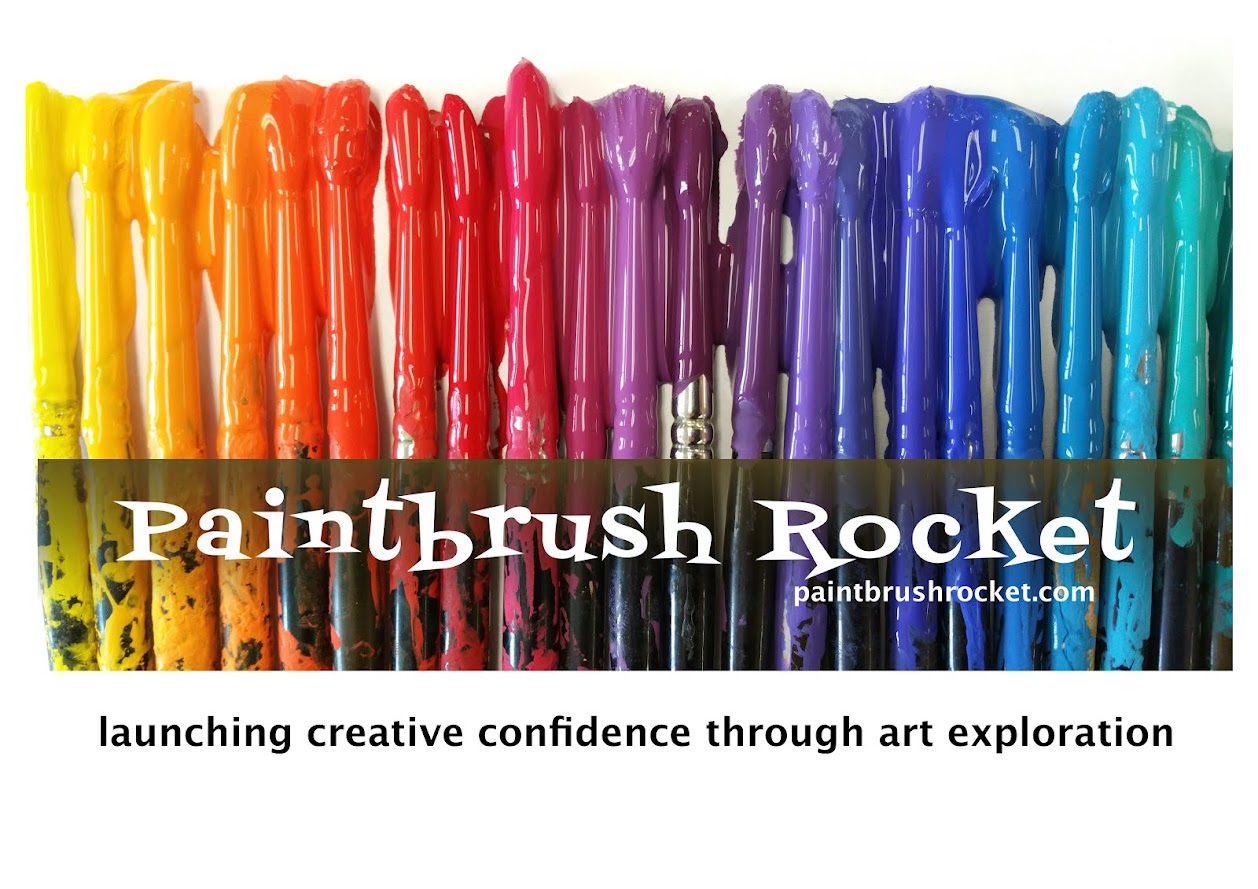 Paintbrush Rocket