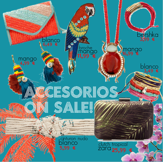 Re-bajas: Accesorios on Sale! Mango-Zara-Blanco-Bershka
