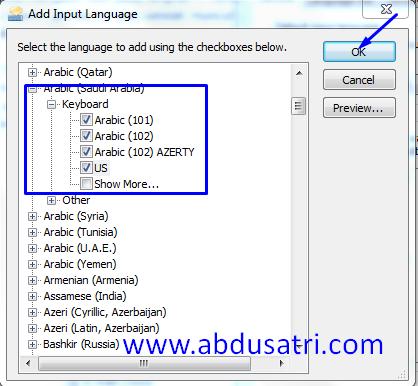 Cara menulis angka arab di Ms Word