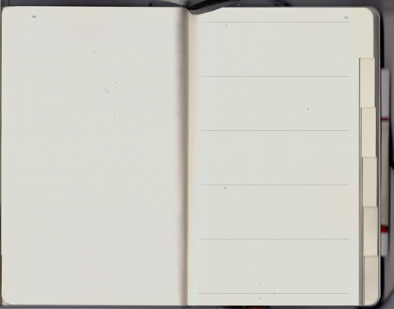 blank journal page template my modified journal