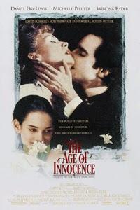 Poster original de La edad de la inocencia