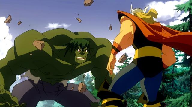 Hình ảnh phim Hulk vs Thor