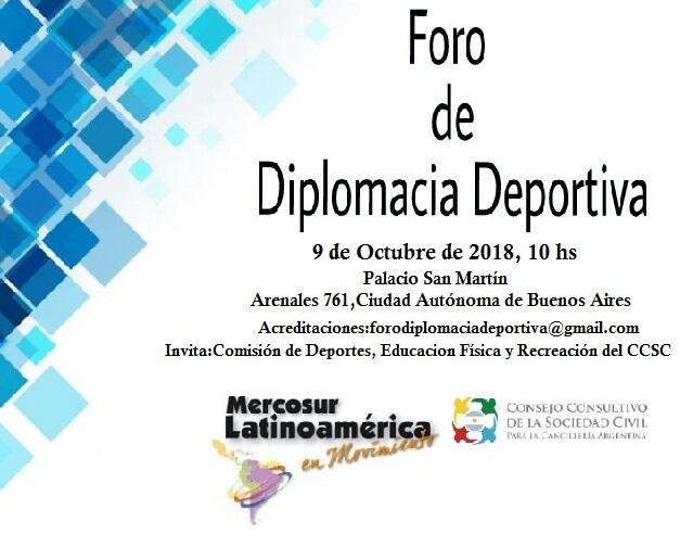 Foro de Diplomacia Deportiva