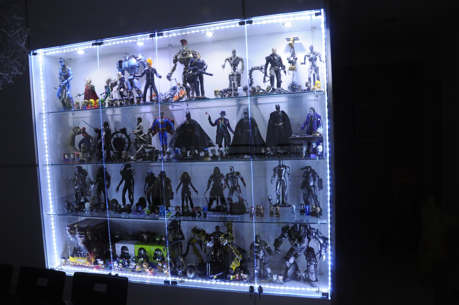 Attirant My Hot Toys Collection U0026 Display 2013 Update