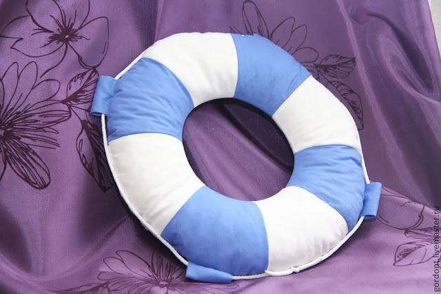 спасательный круг, подушка на заказ